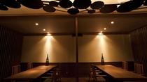 ◆料理茶屋[天の謌]/ランプの炎が灯る落ち着いた雰囲気のお食事処。
