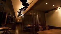 ◆料理茶屋[天の謌]/ランプの炎が灯る落ち着いた雰囲気の中、旬の和食会席をご堪能ください