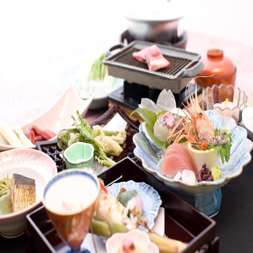 【夕食】お膳食(写真はイメージです)