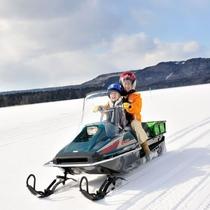阿寒湖氷上フェスティバル/スノーモービル