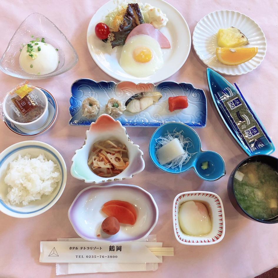 朝食イメージ(夏期)