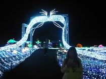 ぐらんぱる公園・グランドイルミネーション・竜宮への門