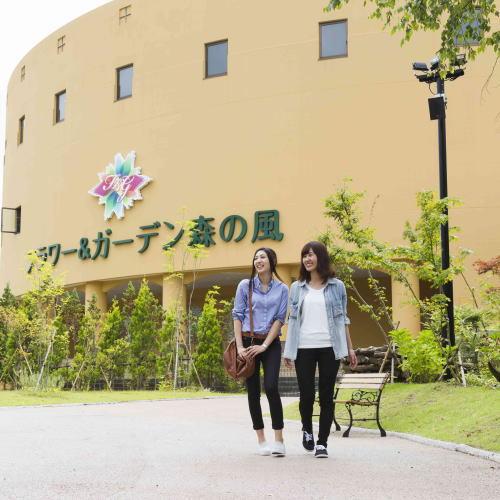 当館に隣接する「フラワーガーデン」御宿泊の際は是非園内をお散歩してみて下さい♪