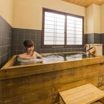 貸切風呂:檜風呂(2室)