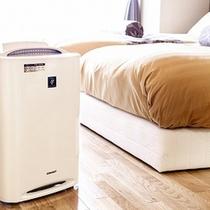 四季彩:全室に加湿空気清浄器完備です♪