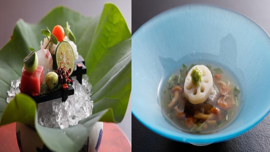 【花結び人気No1】毎月の旬の味覚を味わう☆料理長特選コースプラン♪