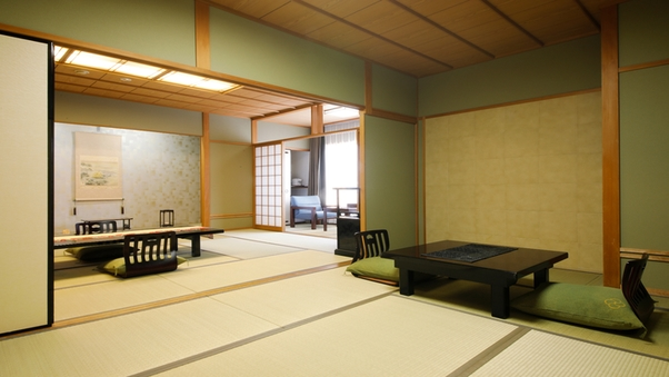 金泉◆露天風呂付デラックス和室「次の間付」・・・◆80平米◆