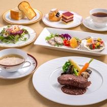 【宮崎牛鞍下ステーキコース】宮崎牛を贅沢にステーキで。口いっぱいに甘い肉汁が広がります。