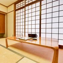 *【和室10畳】畳の香りに心なごむ、和の空間。