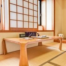 *【和室8畳】和室ならではの風情と落ち着きを感じるお部屋です。