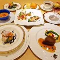*夏のスペシャルディナー(2016/08~洋食/料理一例)