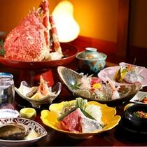 【料理】静の海会席 」(季節により内容が異なります)