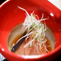 【料理】季節の会席料理 煮物