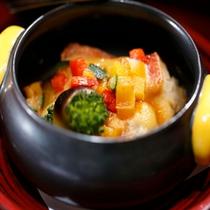 【料理】季節の会席料理 洋皿