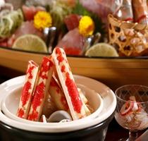 【料理】季節の会席料理 高足ガニの釜蒸し
