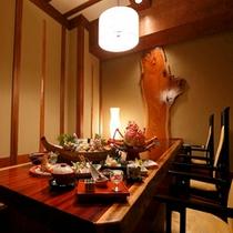 【料理】個室食事処でのお食事