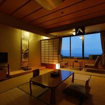 【部屋】5F「藍の詩」客室
