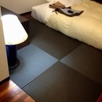 H26年増室 寛ぎの和モダン Serta製WベッドX黒琉球畳 202