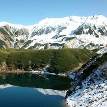 【周辺観光】立山黒部アルペンルート・室堂みくりが池