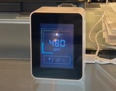 二酸化炭素測定器です