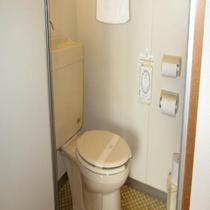 3階和室部屋風呂なし禁煙室のトイレです。