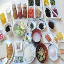 和朝食セルフサービス イメージ