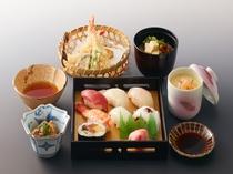 レストラン寿らく亭 お昼メニューの寿司御膳イメージ