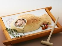 別注の鯛の塩釜焼きイメージ @6000税サ込