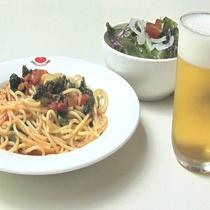 スパゲッティーセットプラン一例