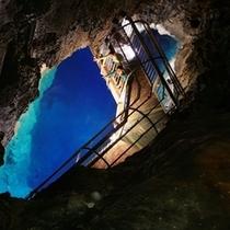 龍泉洞第1地底湖