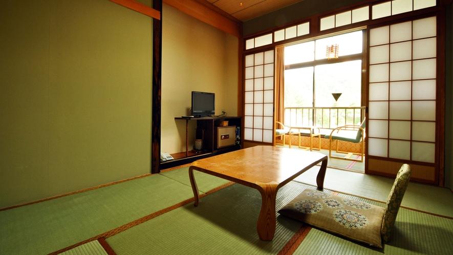 【和室6畳】一人旅やビジネスのお客様もご満足いただけるくつろぎの和室。