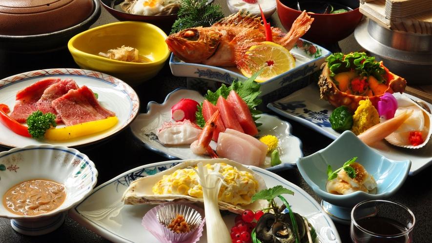 【観光ご夕食】皆様にご満足いただける、お料理をご提供させていただきます。