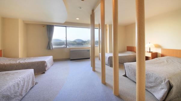 【禁煙】本館 4ベッドルーム(約34平米)