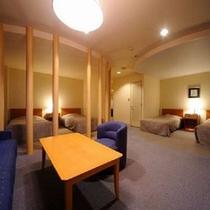 【レイクタワー本館】フォースルーム・客室例(広めのお部屋です)