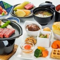 <お子様膳> 料理例 ★NEW★前沢牛ハンバーグ付 2014年7月よりスタート