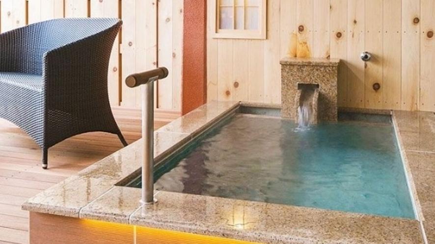 【客室一例】<別邸うらら>スタンダード和洋室10畳タイプ(足湯なし)/源泉100%かけ流し客室露天風