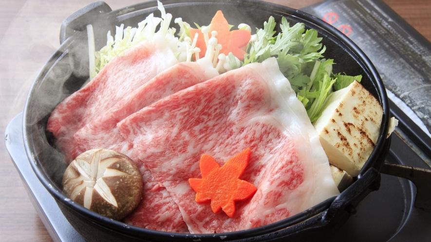 【特別プラン】選べる前沢牛メニュー!すき焼き ※イメージ