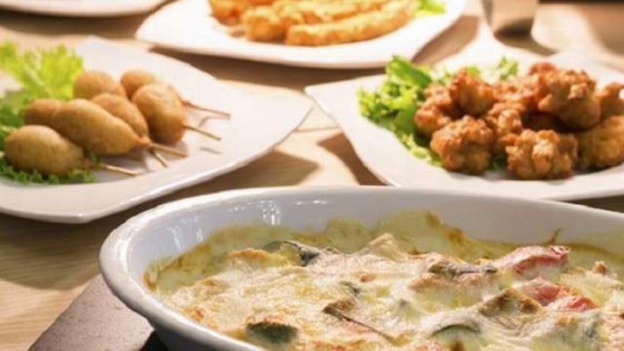 【お料理一例】「おあげんせ」多彩なお料理をお楽しみいただけます。 ※イメージ