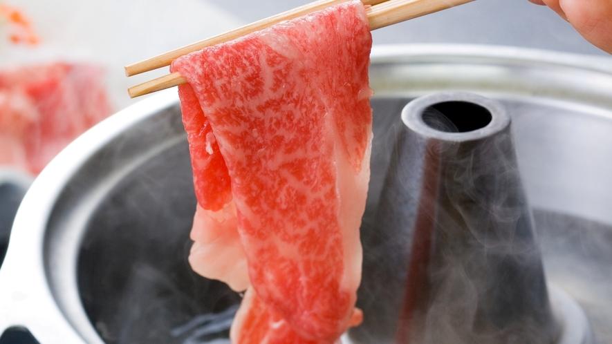 【別注料理】前沢牛のしゃぶしゃぶ ※イメージ