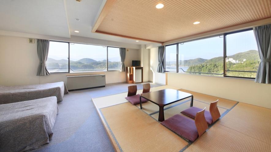 【客室一例】本館 和洋室/2010年10月改装オープン、温泉リゾート感覚でお過ごしいただけます。