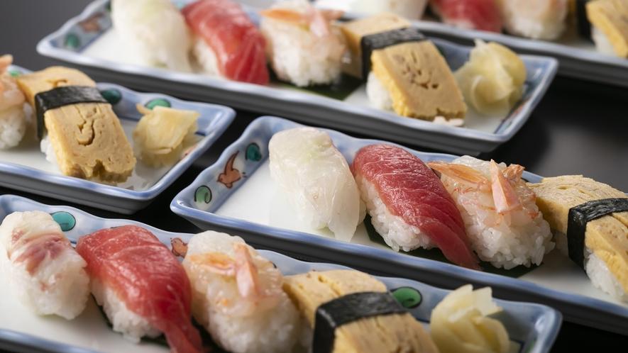 【お料理一例】新鮮で豊富なネタをご賞味ください。 ※イメージ