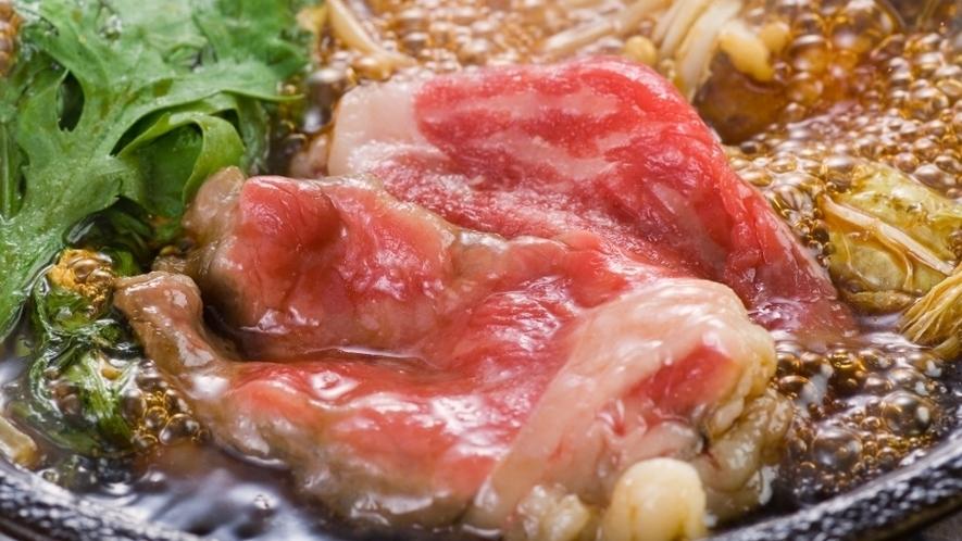 【別注料理】前沢牛のすき焼き ※イメージ