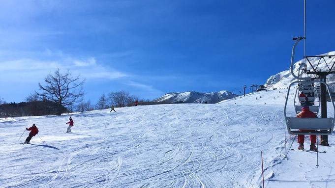 【1日リフト券付き】スキー・スノボを満喫