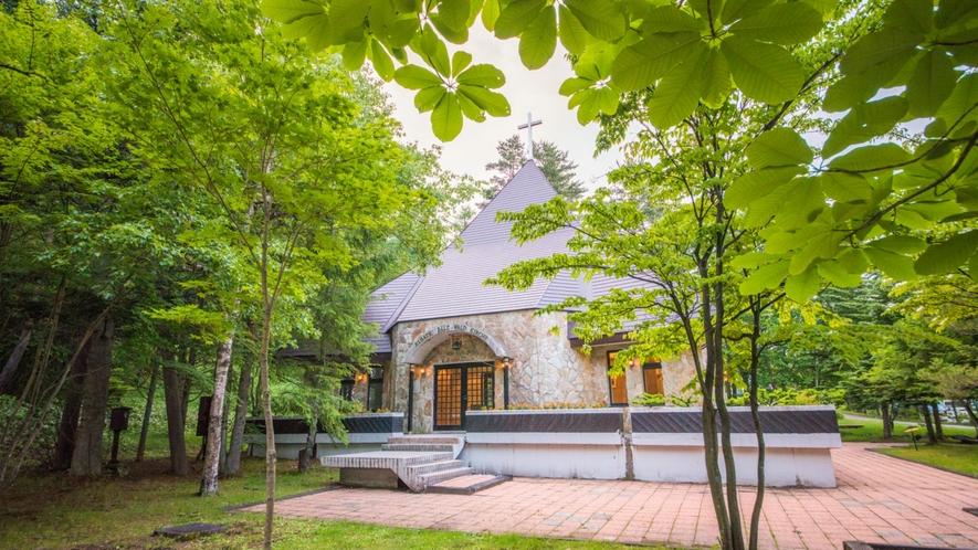ベルツの森教会