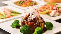 【中国料理】地産地消にこだわったコース料理。