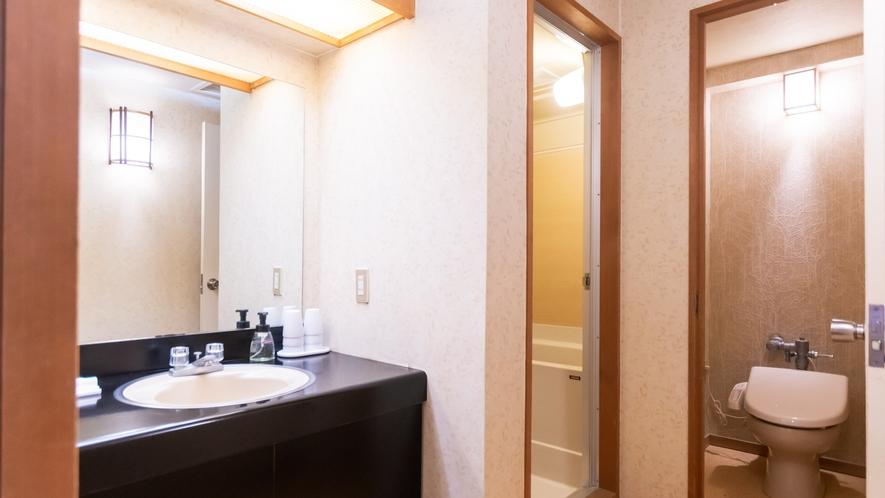 【和室】独立した客室バスルーム