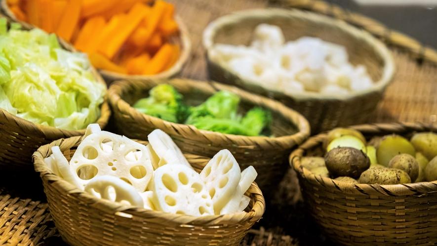 【ブレックファスト】蒸し野菜 ※イメージ