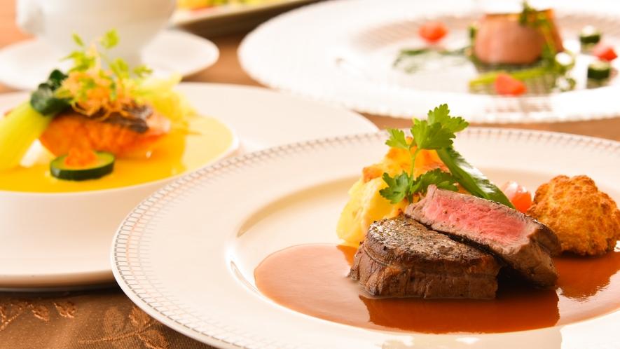 【フランス料理】群馬の旬の食材を使うことにこだわった料理