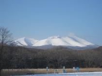 苫小牧のシンボル樽前山