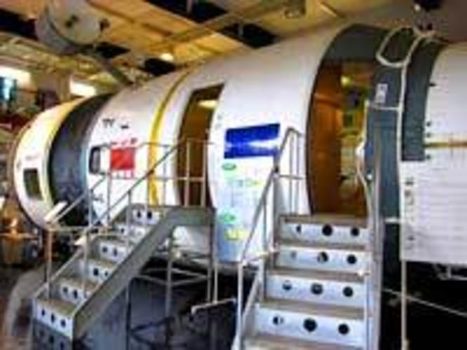 宇宙船ミール記念館